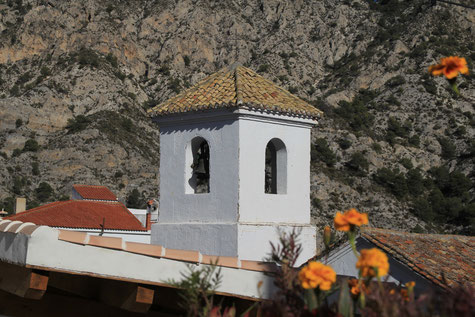 The church of Guájar Alto