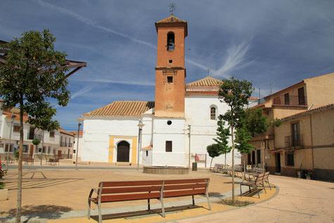 Iglesia de la Anunciación in Albuñán