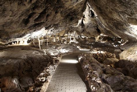 The cave Las Ventanas in Piñar