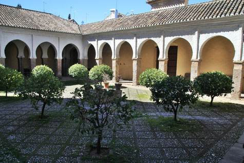 The Almohad Patio of Iglesia Salvador
