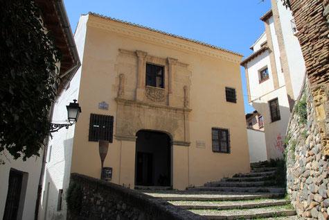 Facade of Casa de Porras