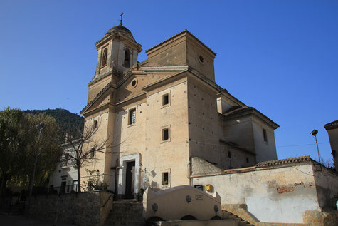 The church of Pinos del Valle