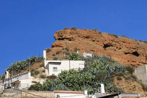 Cave houses in Beas de Guadix