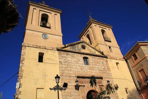 The church of Albúnol