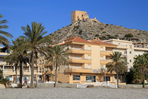 A view on Castell de Ferro