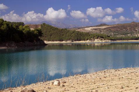 Embalse de Bermejales - Alhama de Granad