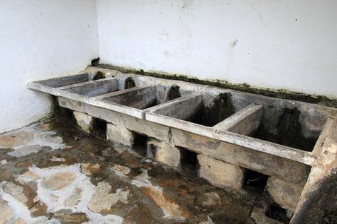 The washing sinks in Lentegí
