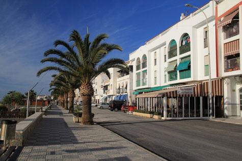 The boulevard of La Mamola