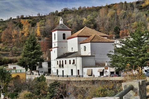 The church of Busquístar