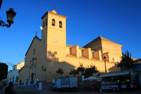 The church of Ugíjar