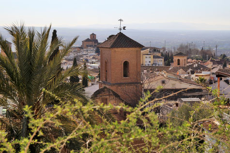 The Tower of the Iglesia de San Luis