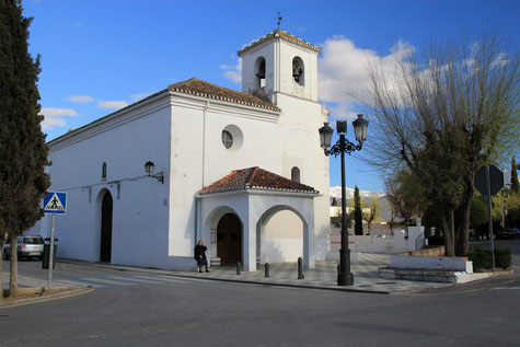 The church of Churriana de la Vega