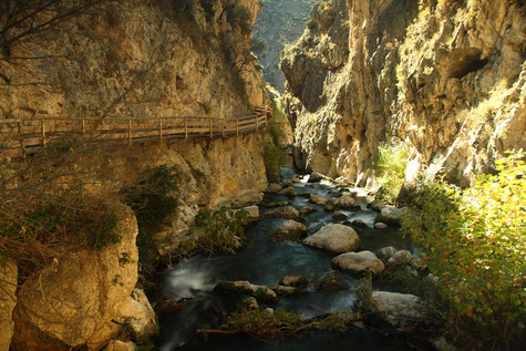 Colgante Rio de Castril