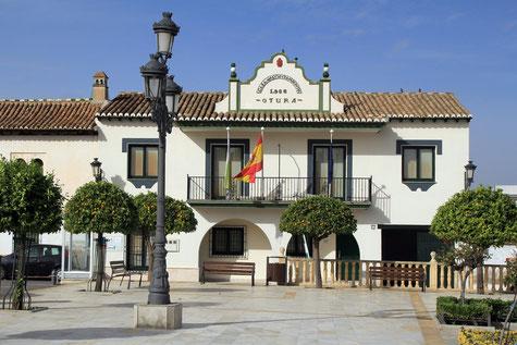 The city hall of Villa de Otura