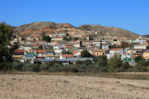 View on the village Alamedilla