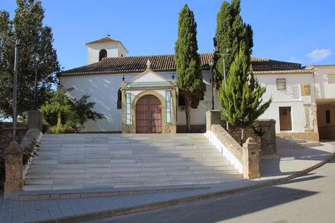 The church of Campotéjar