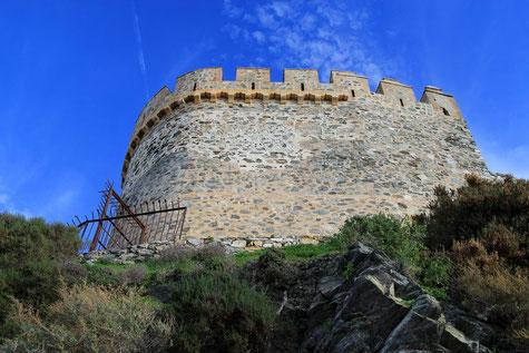 The castle San Miguel in Almuñecar