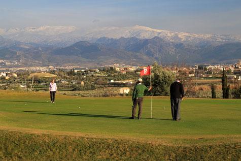 The golf course of Las Gabias