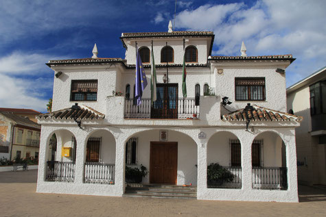 The town hall of Alfacar