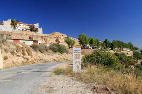 View on the village Villanueva de las Torres