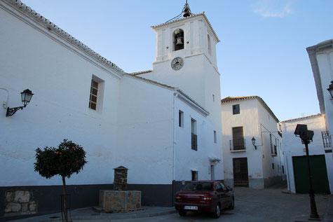 The church of Almegíjar