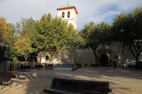 The church of Los Ogíjares