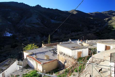 The village Los Montoros