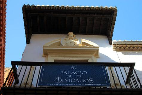 Facade of Palacio de los Olvidados