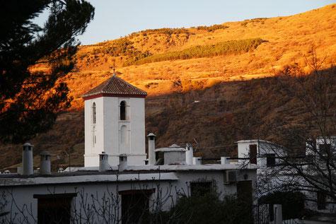 The church of Capileira