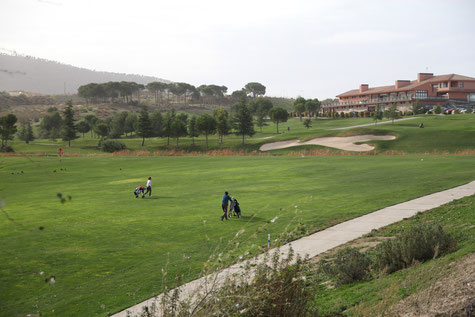 The golf course Santa Clara in Otura