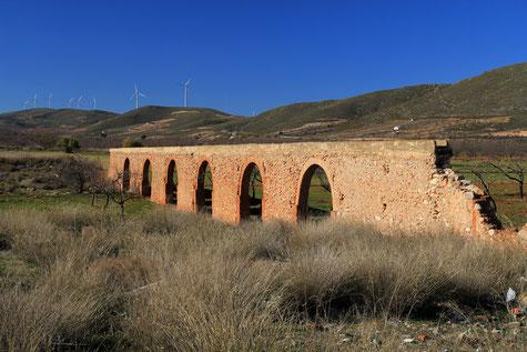 The aqueduct in Cónchar
