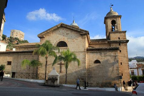 The church of Vélez de Benaudalla
