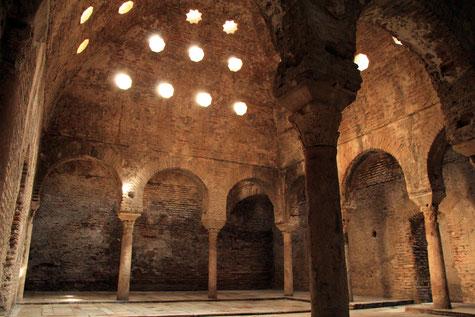 The interior of el Bañuelo