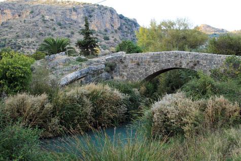 The Roman Bridge in Colomera