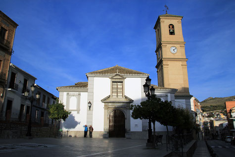 The church of Pinos Puente
