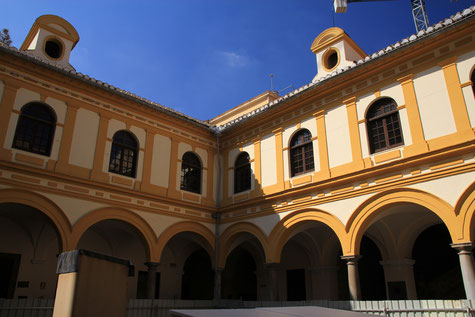 One of the Courtyards of Law Faculty