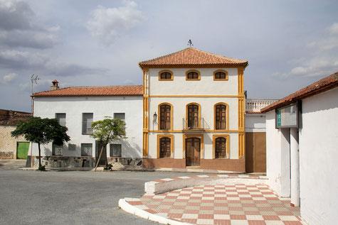 The main square of Laborcillas