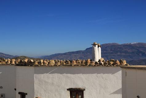 The typical Alpujarra chimneys (Golco)