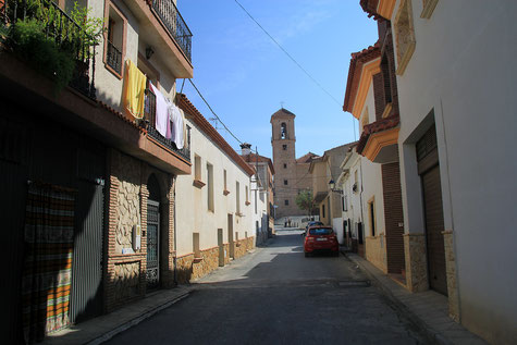 A street in Esfiliana