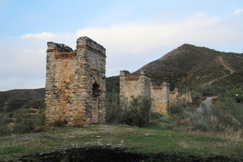 Ruins of the French Canal in Dúdar