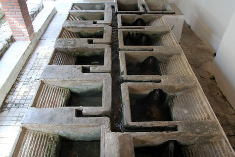 The historic washing sinks of Gor