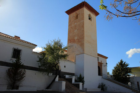 The church of Los Tablones