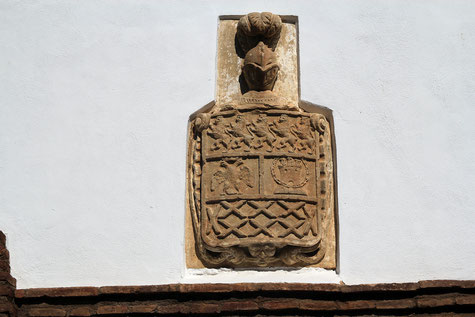 Detail of a house in Esfiliana