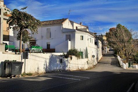 A street in Moraleda de Zafayona