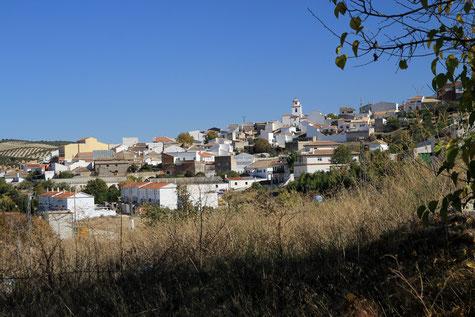 View on the village Piñar
