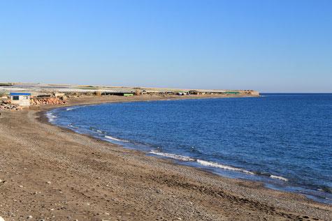 The beach El Pozuelo