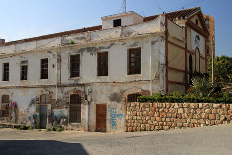 An old sugar factory in Motril