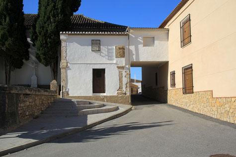 A street in Campotéjar