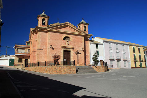 View on the church of Alomartes