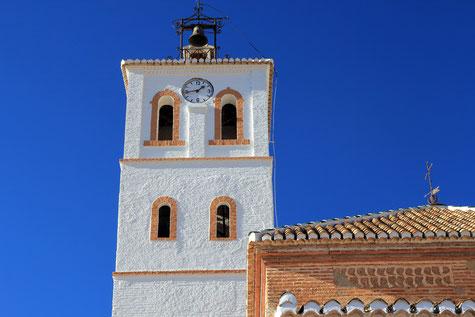 The church of Cogollos Vegas